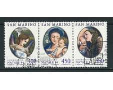 1984 - LOTTO/17590 - SAN MARINO - NATALE TRITTICO - USATO