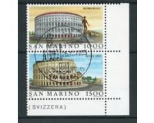 1985 - LOTTO/17613 - SAN MARINO - ITALIA 85 - USATI