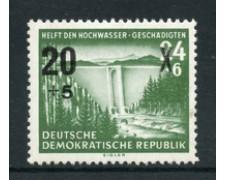 1955 - LOTTO/17661 - GERMANIA DDR - VITTIME INONDAZIONI - NUOVO