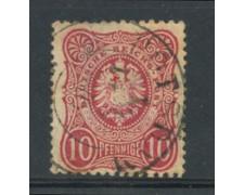 1875 - LOTTO/17667 - GERMANIA  IMPERO - 10p. ROSA  - USATO