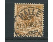 1889 - LOTTO/17675A - GERMANIA - 3 PFENNIG BRUNO GIALLO - USATO