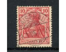 1902 - LOTTO/17685 - GERMANIA - 10p. ROSSO - USATO