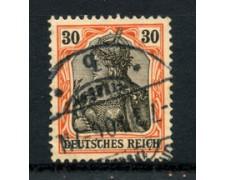 1902 - LOTTO/17688 - GERMANIA - 30p. ROSSO E NERO - USATO