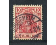 1905 - LOTTO/17695 - GERMANIA -  10p. ROSSO - USATO