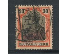 1905 - LOTTO/17699 - GERMANIA - 30p. ARANCIO E NERO - USATO