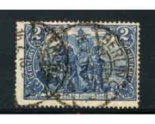 1905 - LOTTO/17705 - GERMANIA - 2 MARCHI AZZURRO  - USATO