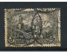 1905 - LOTTO/17706 - GERMANIA - 3 MARCHI VIOLETTO NERO - USATO