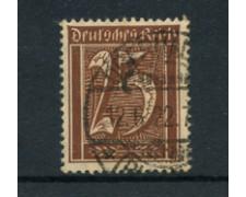 1921 - LOTTO/17746 - GERMANIA REICH - 25p.  MARRONE - USATO
