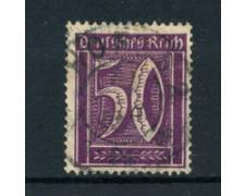 1921 - LOTTO/17749 - GERMANIA REICH - 50p. VIOLETTO - USATO