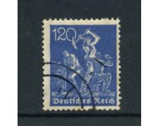 1921 - LOTTO/17752 - GERMANIA REICH - 120p. OLTREMARE - USATO