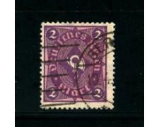 1922 - LOTTO/17801 - GERMANIA REICH - 2m. VIOLETTO - USATO