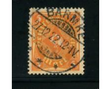 1922 - LOTTO/17803 - GERMANIA REICH - 5m. ARANCIO GIALLO - USATO