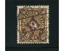1922 - LOTTO/17807 - GERMANIA REICH - 30m. BRUNO GIALLO - USATO