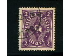 1922 - LOTTO/17810 - GERMANIA REICH - 2m. VIOLETTO - USATO