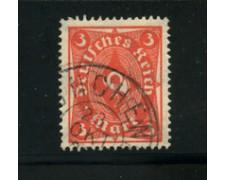 1922 - LOTTO/17811 - GERMANIA REICH - 3m. VERMIGLIO - USATO