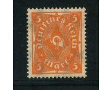 1922 - LOTTO/17814 - GERMANIA REICH - 5m. ARANCIO - NUOVO