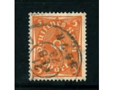 1922 - LOTTO/17815 - GERMANIA REICH - 5m. ARANCIO -  USATO