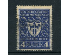1922 - LOTTO/17826 - GERMANIA REICH - 4m. EXPO DI MONACO - USATO