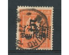 1923 - LOTTO/17863P - GERMANIA REICH - 5T. SU 40P. - USATO PERFIN