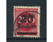 1923 - LOTTO/17868 - 20t. su 200m. ROSSO - USATO