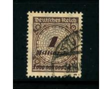 1923 - LOTTO/17907 - GERMANIA REICH - 1Md. BRUNO VIOLETTO - USATO