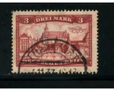 1924 - LOTTO/17916 - GERMANIA REICH - 3m. MARIENBURG - USATO