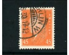 1928 - LOTTO/17918 - GERMANIA REICH - 45p. ARANCIO EBERT - USATO