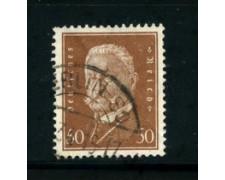 1928 - LOTTO/17919 - GERMANIA REICH - 50p. BRUNO  HINDENBURG - USATO