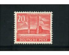 1953/54 - LOTTO/17935 - BERLINO - 20p. STADIO OLIMPICO - NUOVO