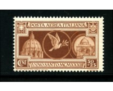 1933 - LOTTO/17955 - REGNO - 50+25c. P/A  ANNO SANTO - NUOVO