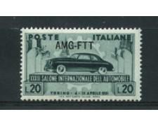1951 - LOTTO/17966 - TRIESTE A - SALONE AUTO - NUOVO