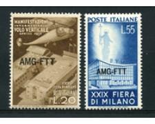 1951 - LOTTO/17968 - TRIESTE A - FIERA DI MILANO 2v. - NUOVI