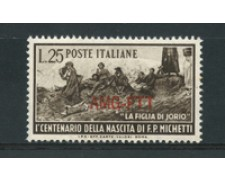 1951 - LOTTO/17976 - TRIESTE A - PAOLO MICHETTI - NUOVO