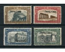 1927 - LOTTO/18620 - TRIPOLITANIA - MILIZIA 4v. LING.