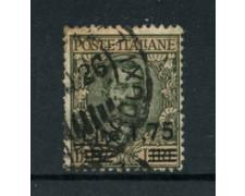 1924/25 - LOTTO/18623 - REGNO - 1,75 LIRE SU 10 LIRE - USATO