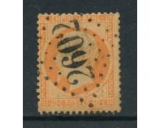 19862 - LOTTO/18646 - FRANCIA - 40 c. ARANCIO NAPOLEONE - USATO