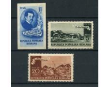 1950 - ROMANIA - I.ANDREESCU 3v. - NUOVI