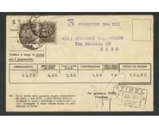 1944 - LOTTO/18704 - R.S.I. - 10c. RECAPITO AUTORIZZATO SU BOLLETTINO
