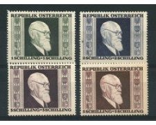 1946 - LOTTO/18734 - AUSTRIA - KARL RENNER 4v. - LING.