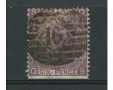 1865 - LOTTO/18812 - GRAN BRETAGNA - 6 Pence VIOLETTO - USATO