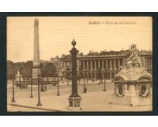 FRANCIA - 1912 - LOTTO/18823 - PARIS PLACE DE LA CONCORDE - VIAGGIATA