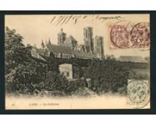 FRANCIA - 1905 - LOTTO/18826 - LAON  LA CATTEDRALE - VIAGGIATA