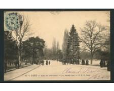 FRANCIA - 1905 - LOTTO/18829 - PARIS BOIS DE BOULOGNE - VIAGGIATA