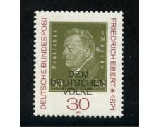 1971 - LOTTO/18908 - GERMANIA FEDERALE - PRESIDENTE F.EBERT - NUOVO