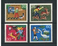 1972 - LOTTO/18917 - GERMANIA FEDERALE - PRO GIOVENTU' 4v. - NUOVI
