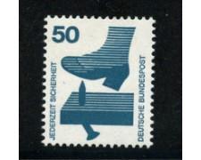 1972 - LOTTO/18918 - GERMANIA  FEDERALE - 50p. INFORTUNI - NUOVO