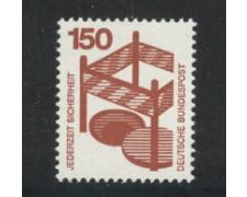 1972 - LOTTO/18921 - GERMANIA FEDERALE - 150p. INFORTUNI - NUOVO