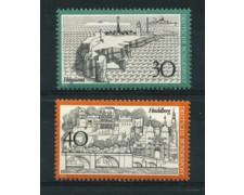 1972 - LOTTO/18923 - GERMANIA FEDERALE - VEDUTE 2v. - NUOVI