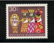 1972 - LOTTO/18924 - GERMANIA FEDERALE - 30+15p. NATALE - NUOVO