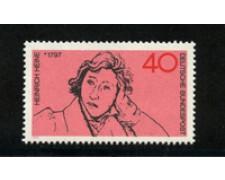 1972 - LOTTO/18926 - GERMANIA FEDERALE -  40p. H. HEINE - NUOVO